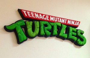 Объемная вывеска - Turtles