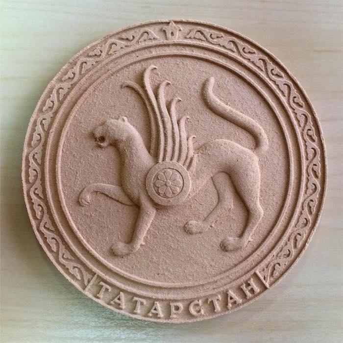 Герб Татарстана в 3D