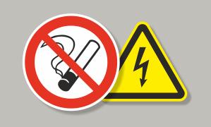 Таблички знаки безопасности