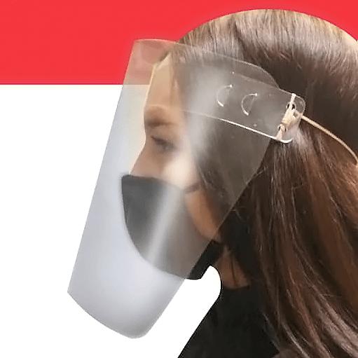 Наклейки и маски от COVID-19