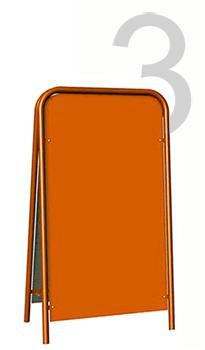 Прямоугольный штендер